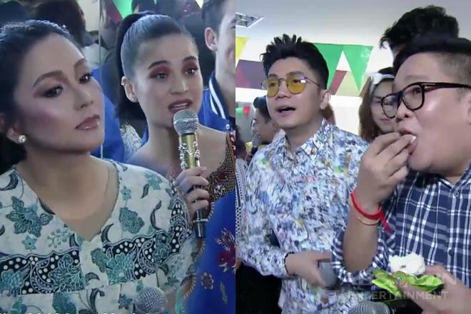 It's Showtime family, naki-fiesta sa dressing room ng Team Anne & Mariel