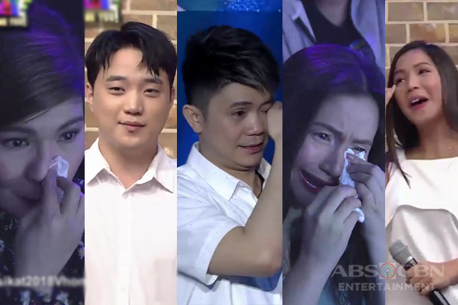 It's Showtime family gets in tears after Magpasikat 2018 performance of Team Vhong & Ryan