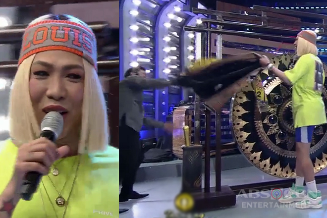 It's Showtime: Vice Ganda, binato ng jacket si Jhong!