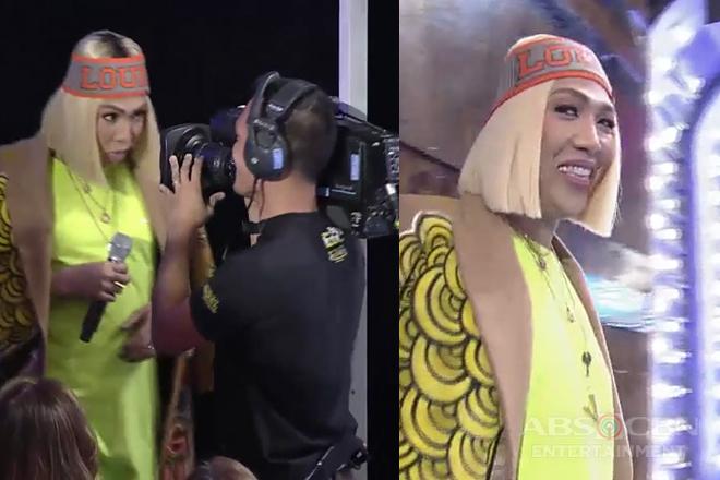 It's Showtime: Vice Ganda, nakipagkulitan sa cameraman!