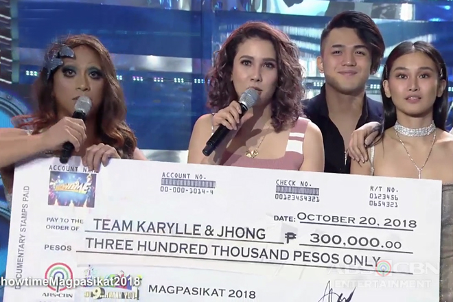 It's Showtime: Team Jhong and Karylle wins Magpasikat 2018!