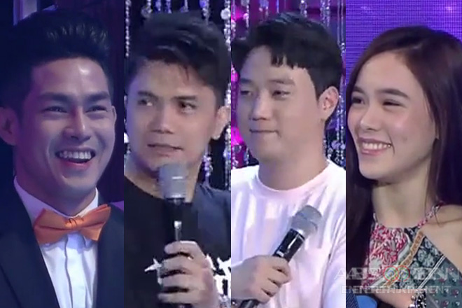 It's Showtime: Vhong, tinanong kung kanino kina Ion at Jackque mas na-attract si Ryan?