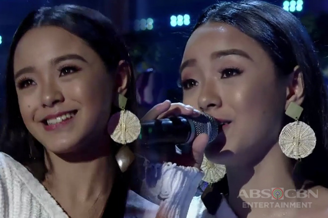 TNT: Sheena Belarmino belts out her rendition of Give Love On Christmas Day