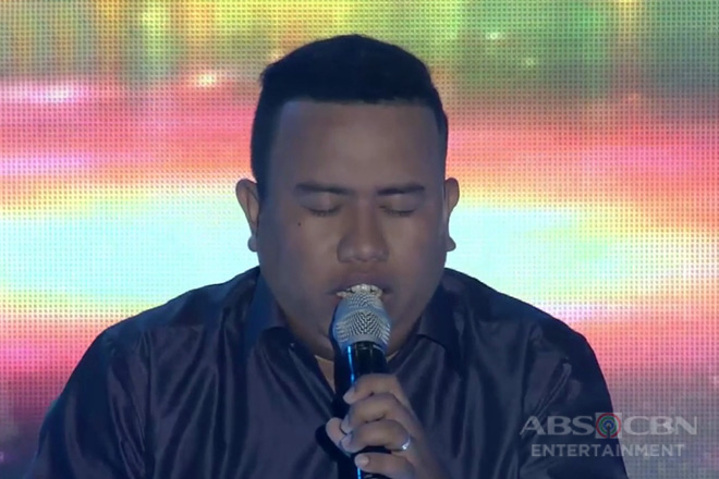 TNT 3: Luzon contender Bobby Dagdag Jr. sing Unchained Melody