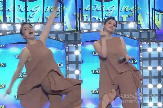 It's Showtime: Mariel, matapang na sinayaw ng solo ang 'Boom Boom'