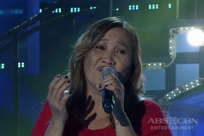TNT 3: Luzon contender Josephine Llamosa sings Ako Ang Nasawi, Ako Ang Nagwagi