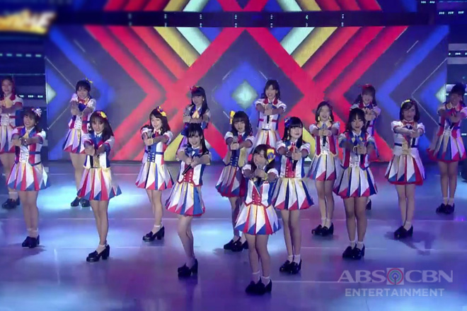 """WATCH: MNL48 is back on It's Showtime stage with their latest single """"Pag-ibig Fortune Cookie"""" Image Thumbnail"""