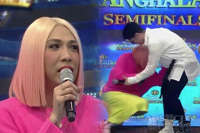 It's Showtime: 'Serious ako Vhong' Vice Ganda, biglang napaupo sa Tawag Ng Tanghalan stage