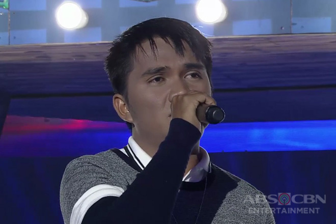TNT 3: Mindanao contender Carl Rian Peligro sings Too Much Love Will Kill You