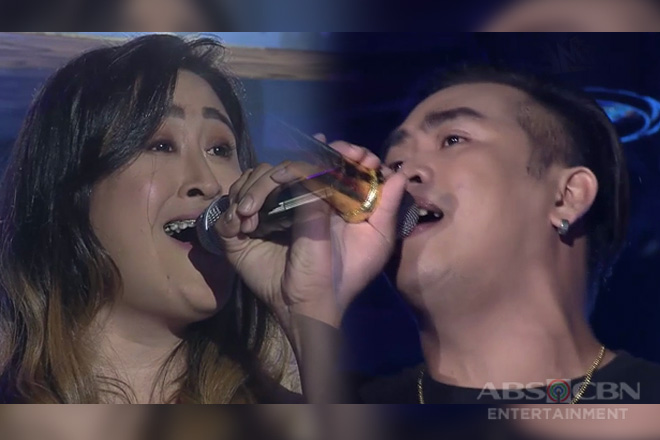 TNT 3: Fortunata Tenosio at Marco Adobas, nagharap para sa golden microphone