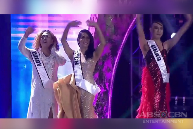 Chad Kinis, Mitch Montecarlo, at Czedy Rodriguez, itinanghal na Top 3 ng Miss Q & A InterTalaktic 2019!