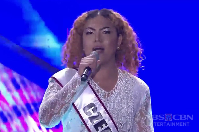 Miss Q & A InterTalaktic 2019: Czedy Rodriguez answers the final question