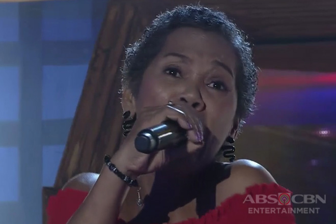 TNT 3: Luzon contender Evelyn Cinco sings This Is My Life