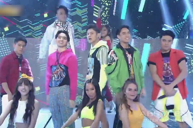 WATCH: BoybandPH, hindi nagpahuli sa kanilang opening dance number sa It's Showtime