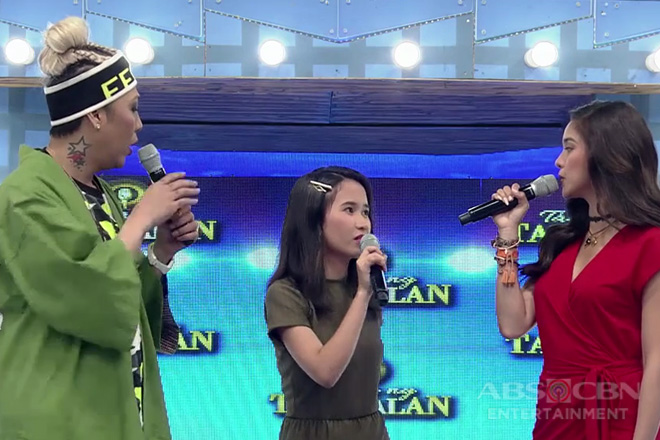 It's Showtime: Vice Ganda, na-left out sa usapan nina Kim at daily contender Kyla