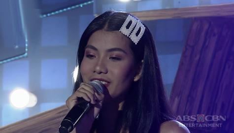 TNT: Luzon contender Lovely Ann Francisco sings Put Your Head On My Shoulder Image Thumbnail