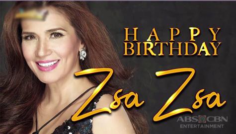 Divine DIva Zsa Zsa Padilla celebrates birthday on It's Showtime Image Thumbnail